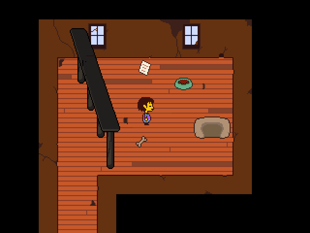Sans Room In His House